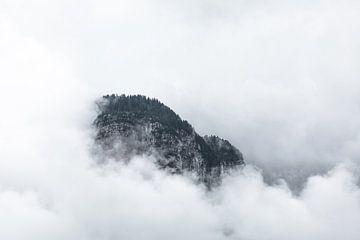 Berg in de wolken van Jarno Dorst
