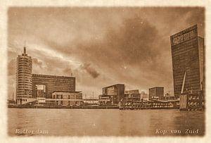 Oude ansichten: Rotterdam Kop van Zuid van