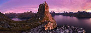 Der Berg Segla von Freek van den Driesschen