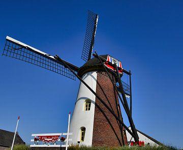 St. Anna Mühle in Weert von J..M de Jong-Jansen
