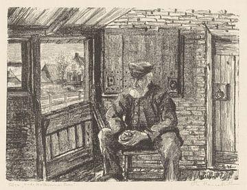 Hollum, Altbauer, Otto Hanrath, 1925 von Atelier Liesjes