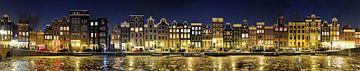 Amsterdam Rotlichtviertel Panorama von Panorama Streetline