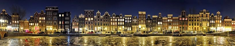 Amsterdam Red Light District Panorama sur Panorama Streetline
