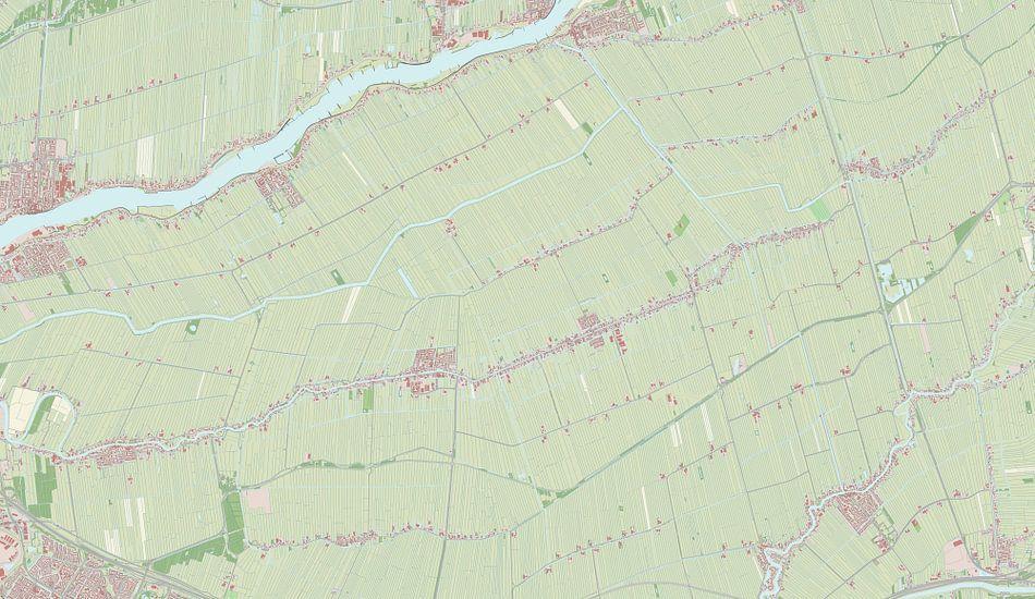 Kaart van Graafstroom