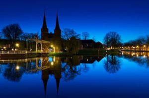 De Oostpoort te Delft van Marc de IJk