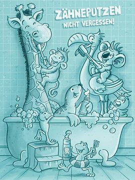 Zähneputzen nicht vergessen! von Stefan Lohr
