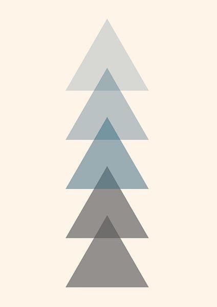 Der einzige Weg ist nach oben, abstrakt von Nynke Altenburg