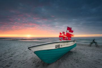 Maritime Idylle (Ahrenshoop / Darß) von Dirk Wiemer