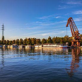 Morgens am Preußenhafen von Frank Heldt