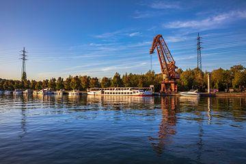 Le matin au port prussien sur Frank Heldt