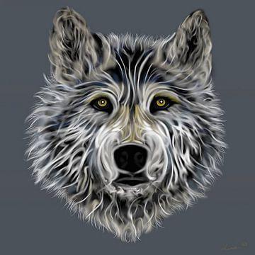 Wolf von Linda van Kleef