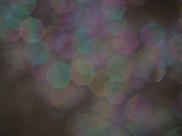 abstract zonlicht reflectie in water van Eric van Nieuwland