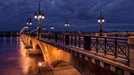 Bordeaux, Pont de Pierre von Paul  Voestermans