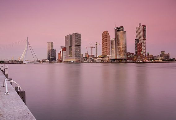 Sunset in Rotterdam