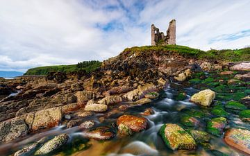 vieille ruine en Irlande sur