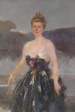 Cecilia Beaux~Porträt von Frau Albert J. Beveridge (Catherine Eddy Lady Primrose Porträt)