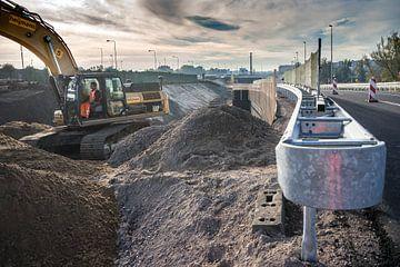 Nieuwe afslag Gooiseweg van Marcel Steinbach