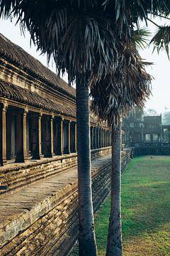 Galerie in Angkor Wat von Alexander Wasem