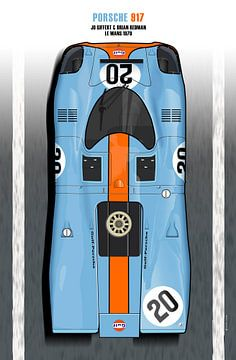 Siffert, Redman 917 Le Mans 1970