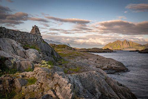 Fjordenblik, Lofoten in Noorwegen
