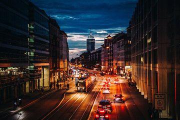 München am Abend von Stefan Lucassen