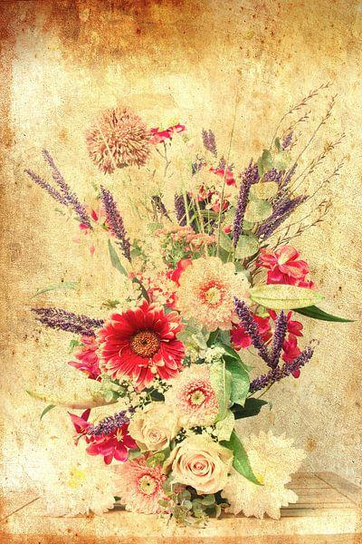 Bloemen kunst 2 van Wendy Tellier - Vastenhouw