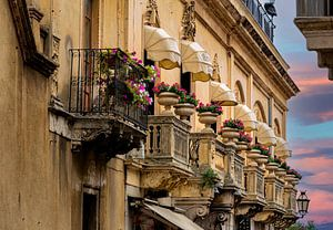 Sizilianische Balkone von Costas Ganasos