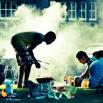 BBQ in het Noorderplantsoen van Frank Tauran