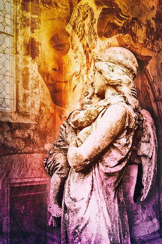 Guardian Angel (Beschermengel) van 2BHAPPY4EVER.com photography & digital art