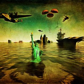Klimawandel  – Make America Great Again Donald Trump von Jan Keteleer