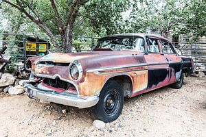 Oude Amerikaanse auto - DeSoto