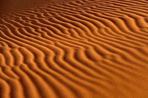 Golvend zand van