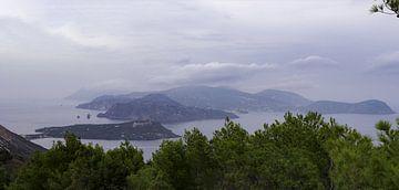 Eolische Eilanden Panorama