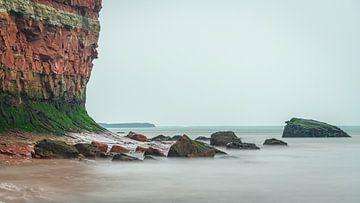 Felsenküste Helgoland von Martijn van Dellen