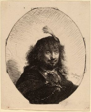 Rembrandt van Rijn  Selbstbildnis von