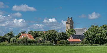 Blick auf die friesische Stadt Schraard im Südwesten der Provinz von Harrie Muis