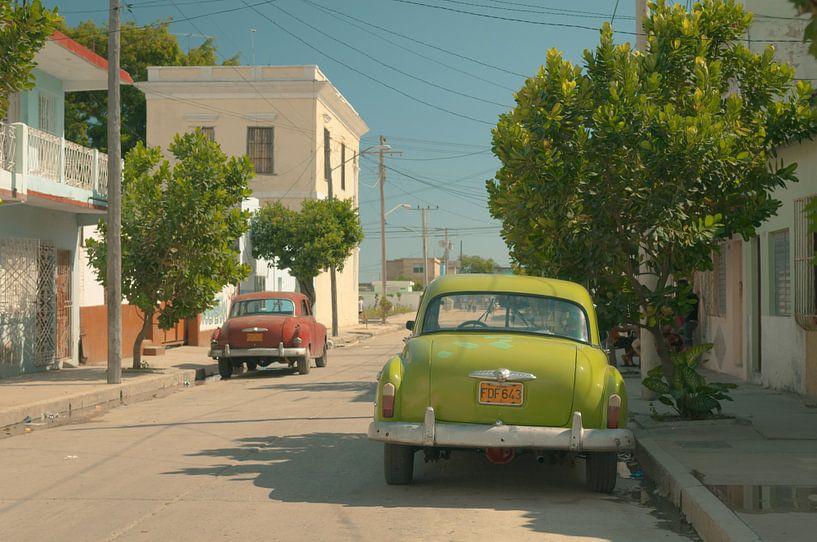 Voitures Cubaines van Arnaud Bertrande