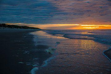 Oktober Sonnenuntergang Vlieland II von Vlielandplaatjes