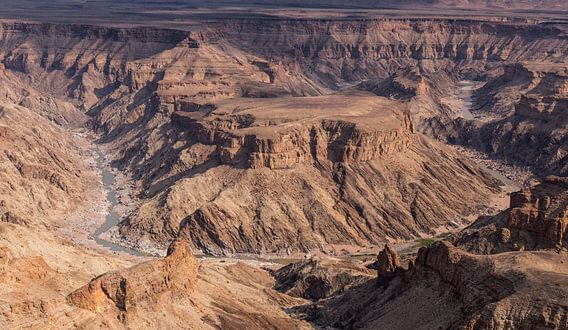 Fish River Canyon - Namibië van Eddy Kuipers