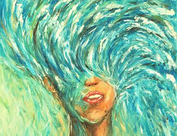 Die Göttin des Meeres von Ineke de Rijk
