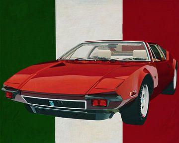 Der Tomaso Pantera von 1971 der Innovator aus Italien von Jan Keteleer