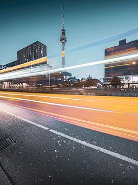 Berlijn Alexanderplatz van Sven Hilscher