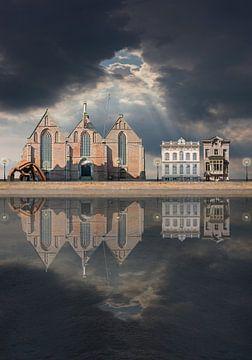 Noorderkerk Hoorn von Aad Trompert