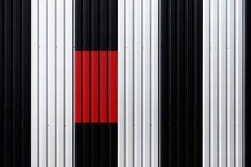 Minimalismus, Zusammenspiel der Linien von Kristof Ven