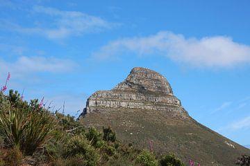Berg gegen blauen Himmel von Quinta Dijk