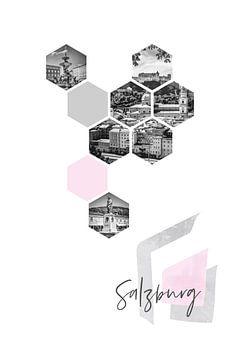 Urban Design SALZBURG van Melanie Viola