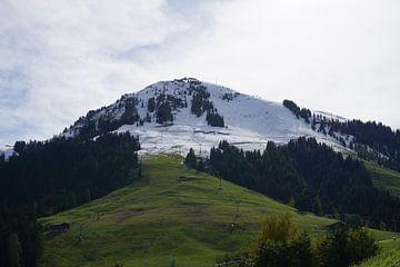 Übergang von Sommer zu Winter auf der Hohen Salve in Söll am Wilden Kaiser, Tirol (Österreich) von Kelly Alblas
