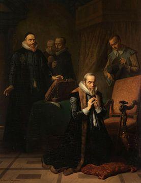 Das letzte Gebet von Johan van Oldenbarnevelt, Simon Opzoomer.