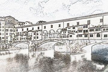 Florence, Italië van Gunter Kirsch