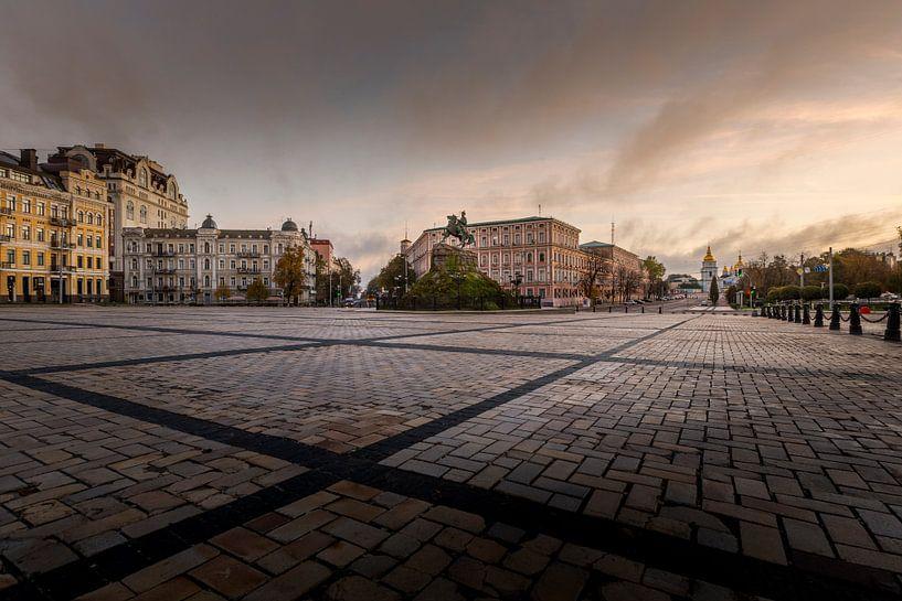 Kiev, Oekraïne van Dennis van Dijk
